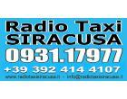Logo - Radio Taxi Siracusa  0931 17977
