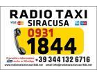 Logo - RADIO TAXI SIRACUSA 09311844