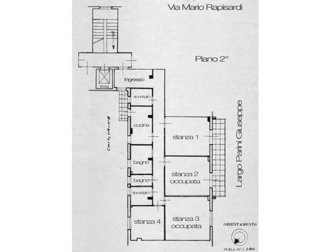 Anteprima foto 1 - Affitto Camera Singola in Appartamento da Privato a Palermo - Notarbartolo
