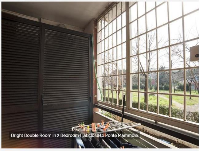 Anteprima foto 3 - Affitto Camera Singola in Appartamento da Privato a Roma - Colli dell'Aniene