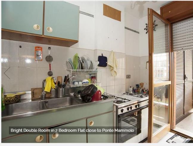 Anteprima foto 5 - Affitto Camera Singola in Appartamento da Privato a Roma - Colli dell'Aniene
