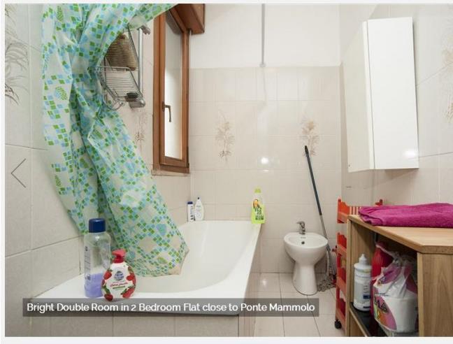 Anteprima foto 6 - Affitto Camera Singola in Appartamento da Privato a Roma - Colli dell'Aniene