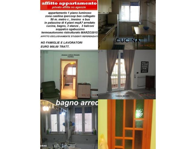 Anteprima foto 1 - Affitto Stanza Tripla in Appartamento da Privato a Roma - Casilina