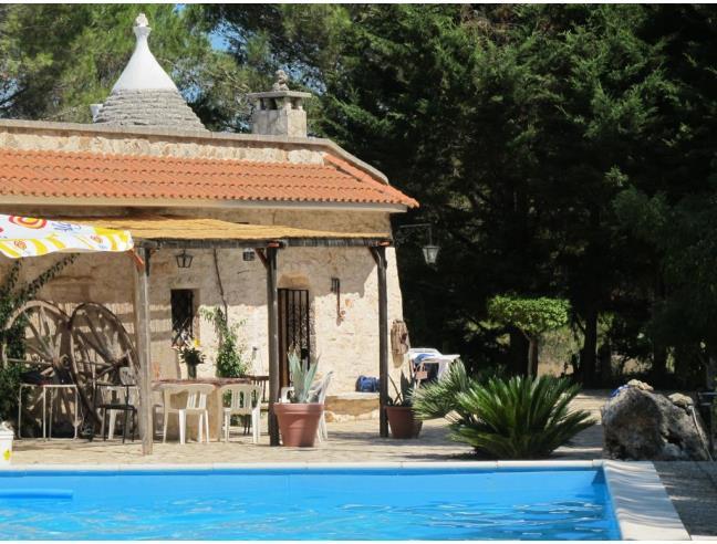 Trullo in villa con piscina privata e giardino casa - Calcola affitto ...