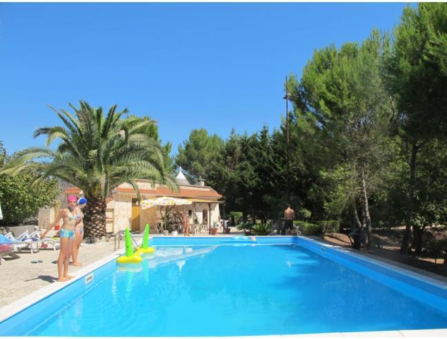 Trullo in villa con piscina privata e giardino casa - Casa vacanze con piscina privata ...