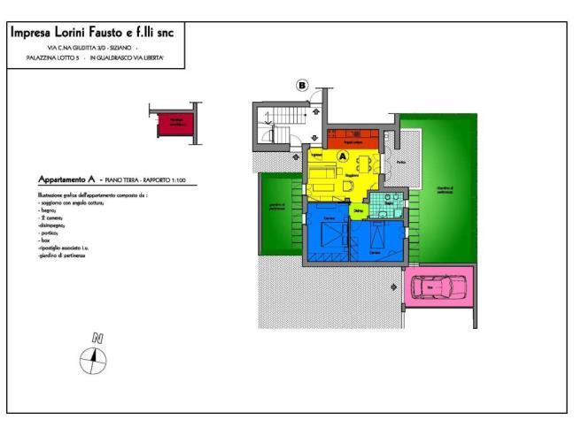 Anteprima foto 1 - Appartamento in Vendita a Bornasco (Pavia)