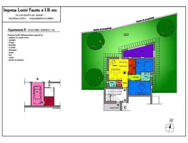 Anteprima foto 2 - Appartamento in Vendita a Bornasco (Pavia)