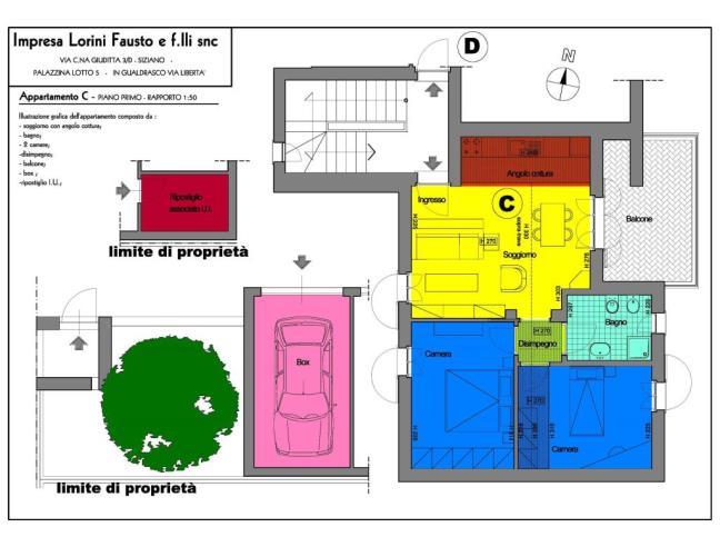 Anteprima foto 3 - Appartamento in Vendita a Bornasco (Pavia)