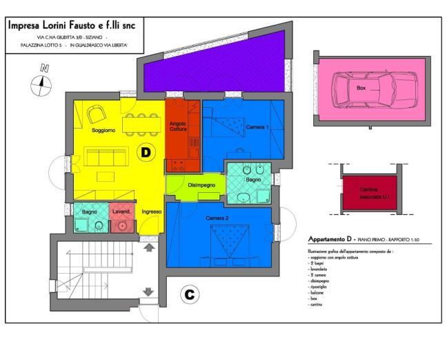 Anteprima foto 4 - Appartamento in Vendita a Bornasco (Pavia)
