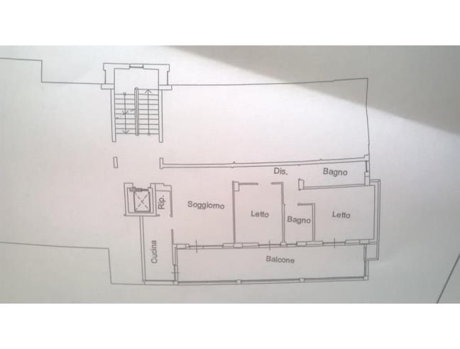 Appartamento 2 camere 2 bagni con garage a pescara for 3 piani da appartamento con 2 bagni e garage