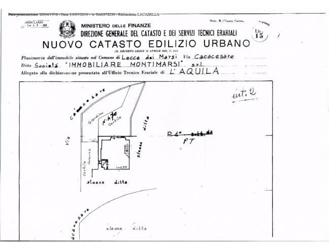 Anteprima foto 1 - Casa indipendente in Vendita a Lecce nei Marsi (L'Aquila)