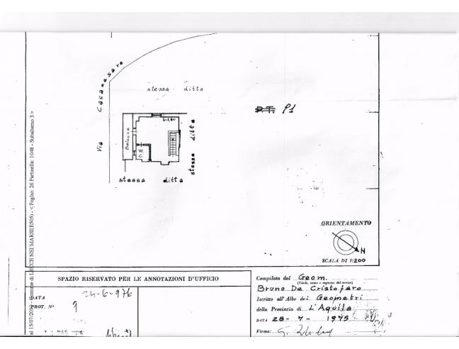 Anteprima foto 2 - Casa indipendente in Vendita a Lecce nei Marsi (L'Aquila)