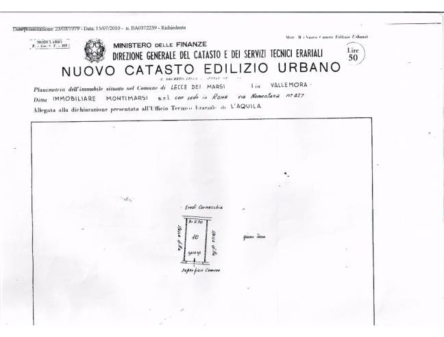Anteprima foto 3 - Casa indipendente in Vendita a Lecce nei Marsi (L'Aquila)