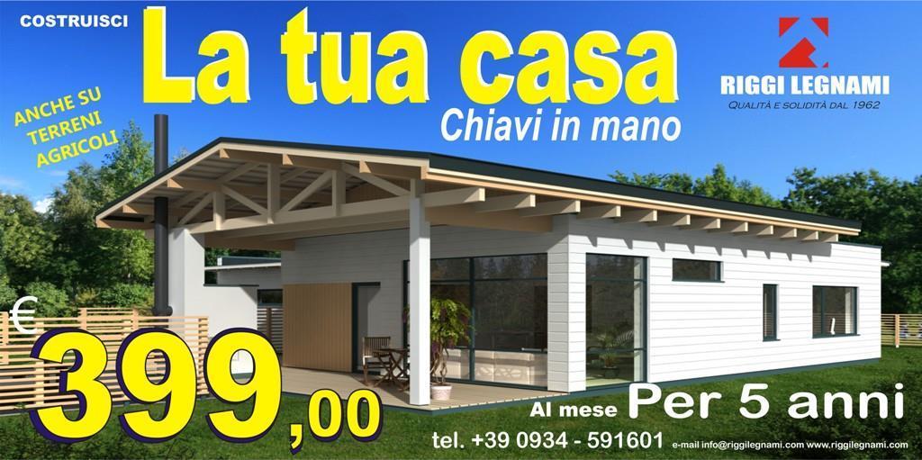 Villa centro mq 50 euro 399 vendita villa da privato a for Mutuo casa prefabbricata