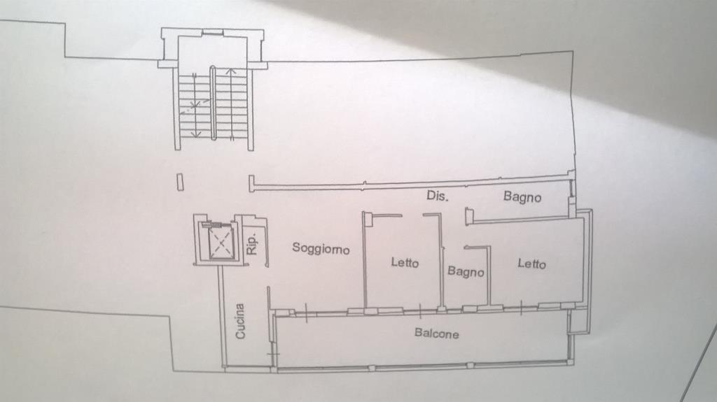 Appartamento 2 camere 2 bagni con garage a pescara for Garage con il costo dell appartamento loft