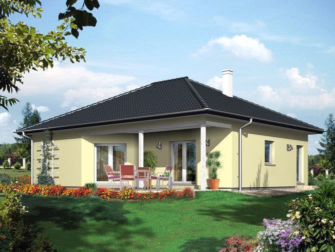Villetta monopiano classe a vendita villa da costruttore for Costo medio a lato di una casa a 2 piani