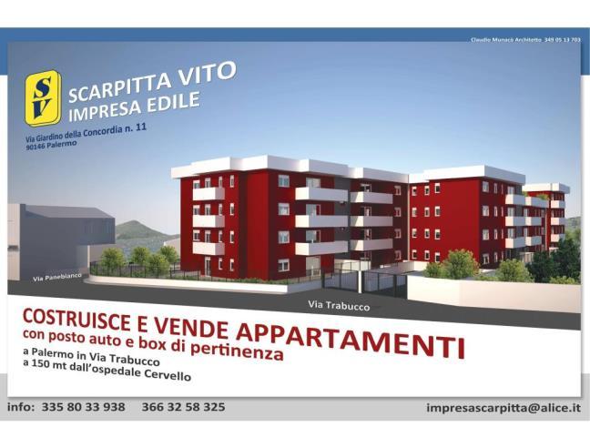 Anteprima foto 1 - Nuove Costruzioni Vendita diretta da Costruttore a Palermo - Cruillas