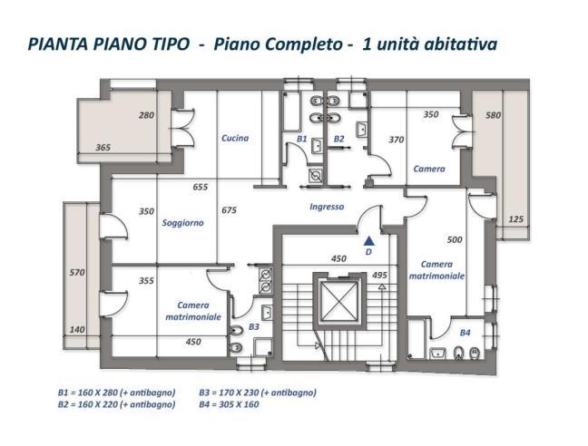 Nuova palazzina di 12 appartamenti da 45 a 120 mq case for Nuove case da 1 piano