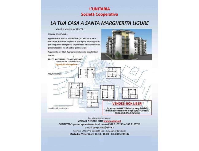 Anteprima foto 1 - Nuove Costruzioni Vendita diretta . No Agenzia a Santa Margherita Ligure (Genova)
