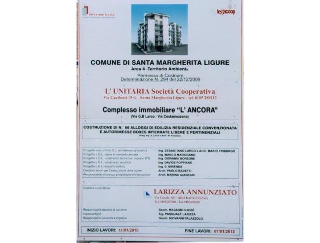Anteprima foto 5 - Nuove Costruzioni Vendita diretta . No Agenzia a Santa Margherita Ligure (Genova)